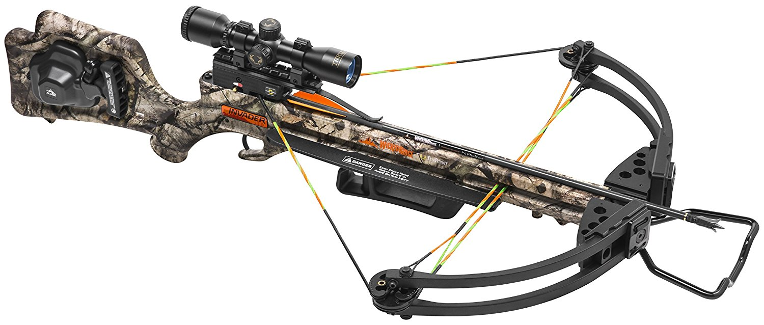 Best Crossbow: Wicked Ridge by TenPoint Invader G3 Crossbow